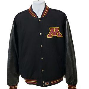 Minnesota Gophers Reversible Jacket XL NCAA